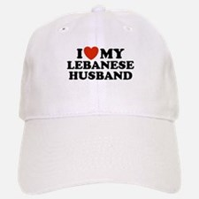 I Love My Lebanese Husband Baseball Baseball Cap