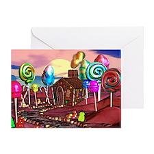 Candyland Greeting Card