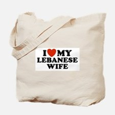 I Love My Lebanese Wife Tote Bag