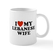 I Love My Lebanese Wife Mug