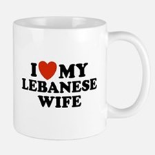 I Love My Lebanese Wife Mug
