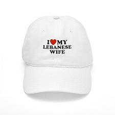 I Love My Lebanese Wife Baseball Cap