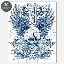 Lucky 13 skull Puzzle