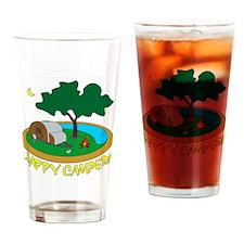 Happy6 Drinking Glass