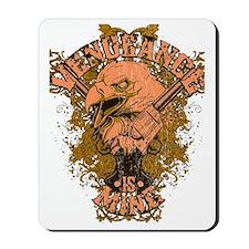 Vengence is Mine Eagle Mousepad