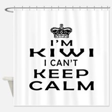 I Am Kiwi I Can Not Keep Calm Shower Curtain