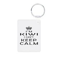 I Am Kiwi I Can Not Keep Calm Aluminum Photo Keych
