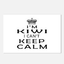 I Am Kiwi I Can Not Keep Calm Postcards (Package o