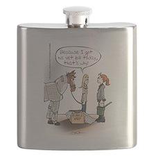 Horse Health Bubble Wrap Flask