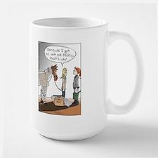 Horse Health Bubble Wrap Large Mug