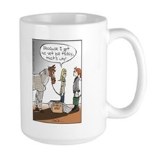 Horse Health Bubble Wrap Mug