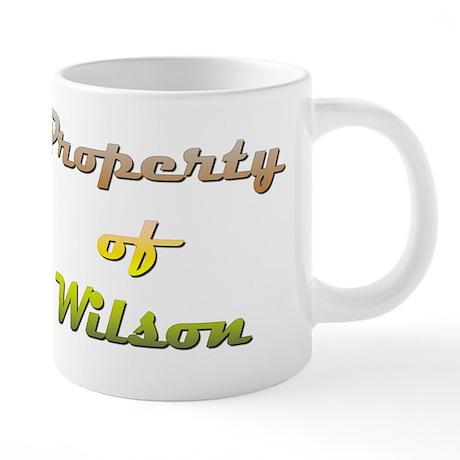 Property Of Wilson Male 20 oz Ceramic Mega Mug