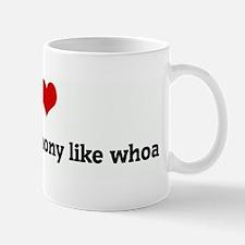I Love Adam and Anthony like  Mug