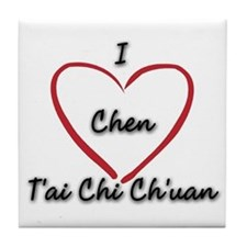 Tai Chi Coaster - Ceramic Tile