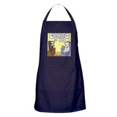 Procrastination Theater Apron (dark)