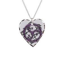 bdsm logo single barb wire Necklace