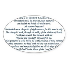 psalm23 Decal