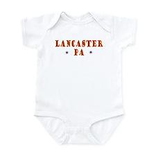 Lancaster Pennsylvania Infant Bodysuit