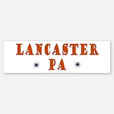 Lancaster Pennsylvania Bumper Bumper Bumper Sticker