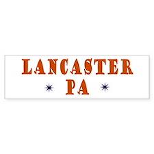 Lancaster Pennsylvania Bumper Bumper Sticker