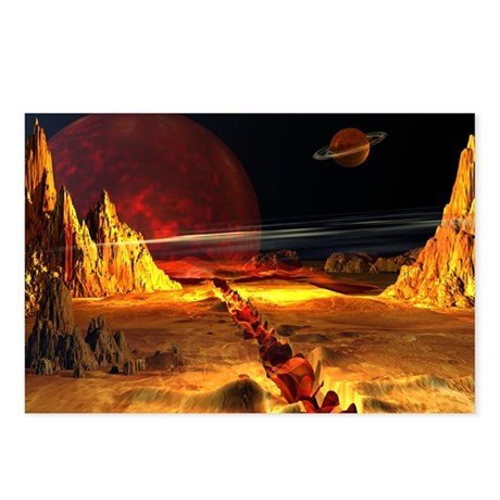 Bloody Planet Postcards (Package of 8)