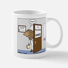 Porcupine Acupuncture Mug