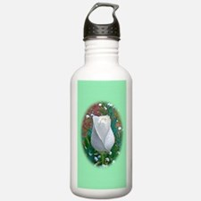 White Rose iPhone 3G H Water Bottle