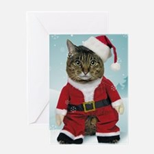 cpsanta_claws_stocking Greeting Card