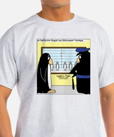 Penguin Police Lineup T-Shirt