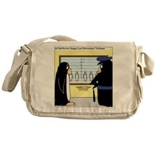 Penguin Police Lineup Messenger Bag