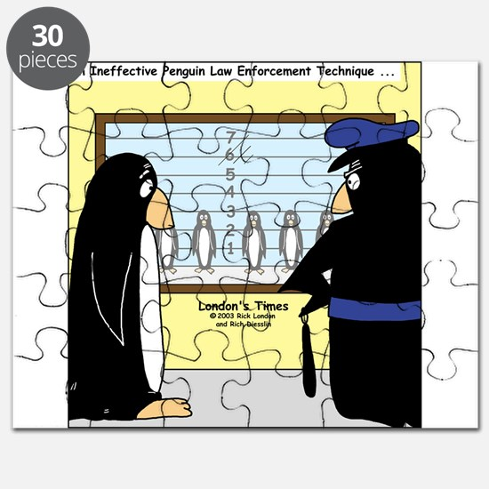 Penguin Police Lineup Puzzle