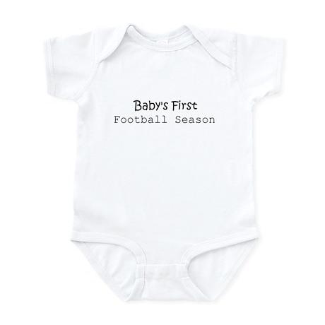Baby's First Football Season Infant Creeper