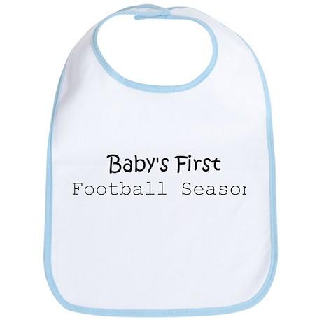 Baby's First Football Season Bib
