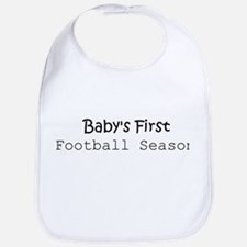 Baby's First Football Season Bib