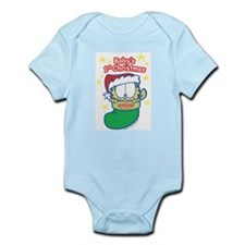 Garfield Baby 1st Christmas Infant Bodysuit