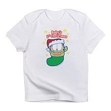 Garfield Baby 1st Christmas Infant T-Shirt