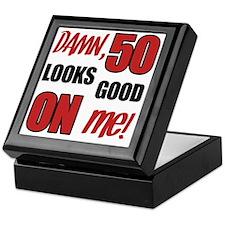 Funny 50th Birthday (Damn) Keepsake Box