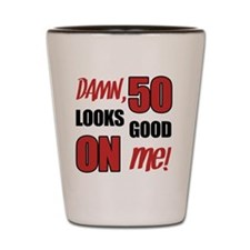 Funny 50th Birthday (Damn) Shot Glass