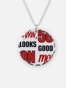 Funny 50th Birthday (Damn) Necklace