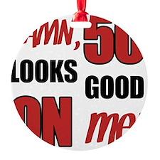 Funny 50th Birthday (Damn) Ornament