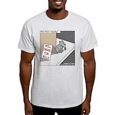 Pavlovs Dog Begging T-Shirt