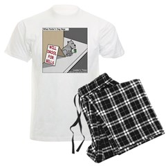 Pavlovs Dog Begging Pajamas