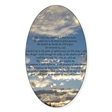 psalm23iPhone4 Decal