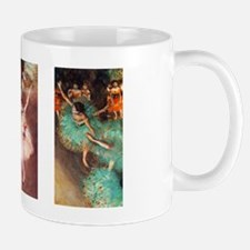 Ballet Dancing Girls by Edgar Degas Small Small Mug