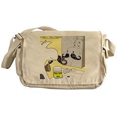 Moostache Wax Messenger Bag
