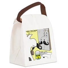 Moostache Wax Canvas Lunch Bag