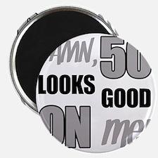 Funny 50th Birthday (Damn) Magnet