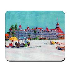 Hotel del Coronado Beach Mousepad