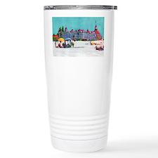 Hotel del Coronado Beach Travel Mug