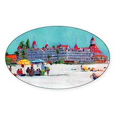 Hotel del Coronado Beach Decal